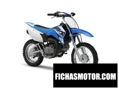 Ficha técnica Yamaha tt-r110e 2015