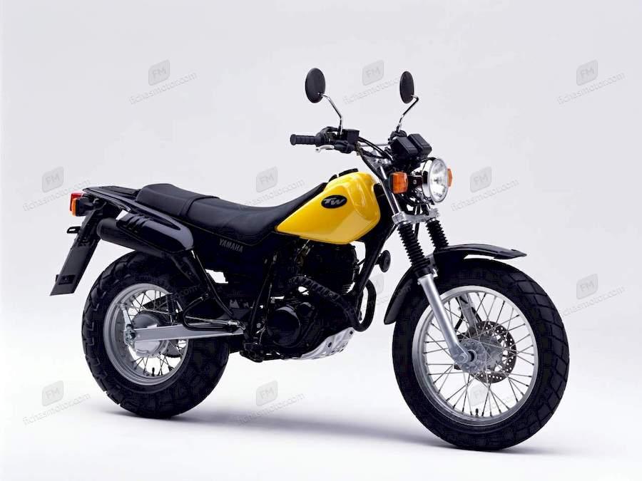 Imagen moto Yamaha tw 125 año 2001