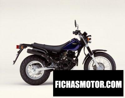 Ficha técnica Yamaha tw 125 2002