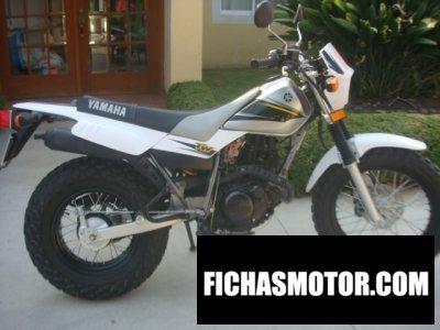 Ficha técnica Yamaha tw 125 2003