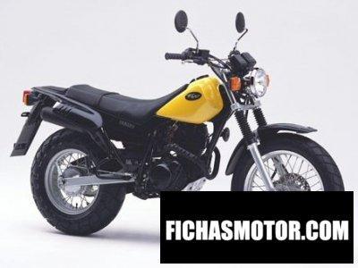 Ficha técnica Yamaha tw 125 2004