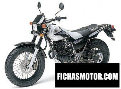 Ficha técnica Yamaha tw 200 2005