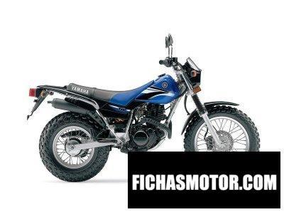 Imagen moto Yamaha tw 200 año 2006