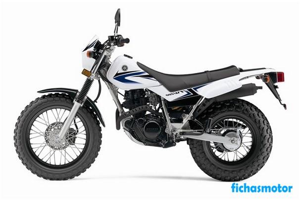 Ficha técnica Yamaha tw200 2009