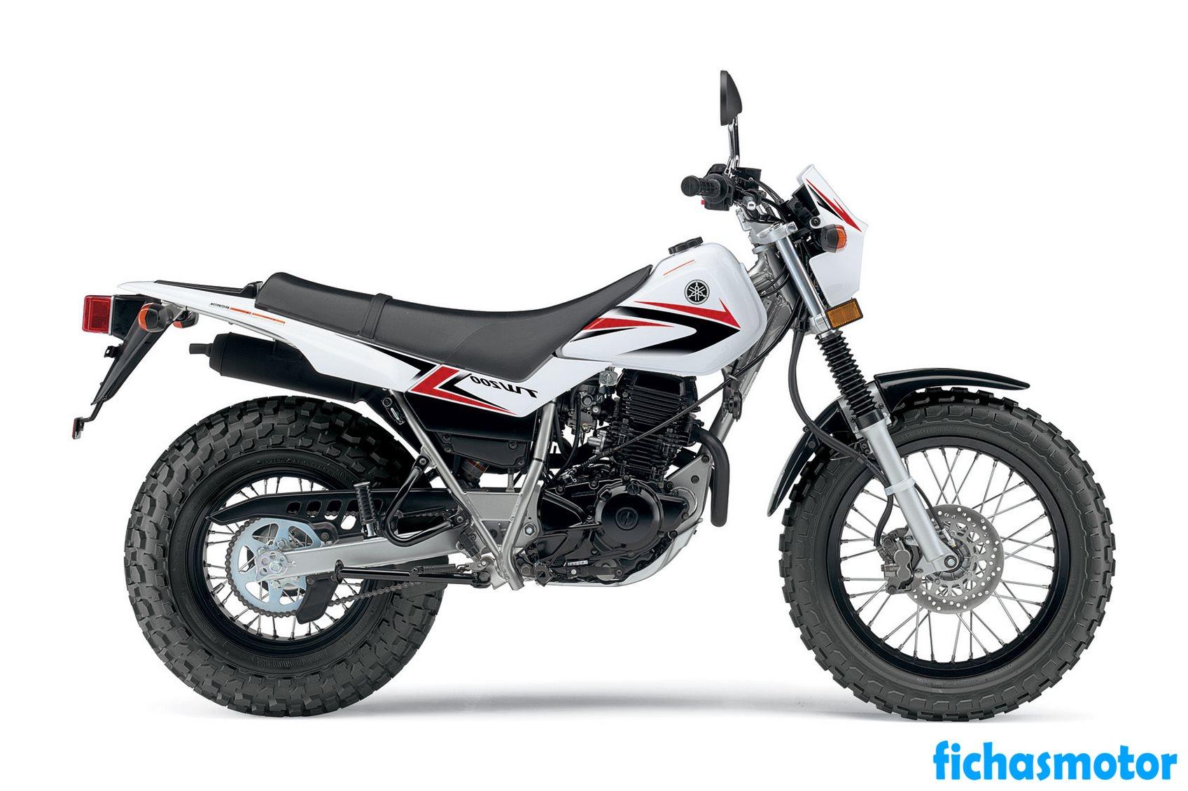 Imagen moto Yamaha tw200 año 2011