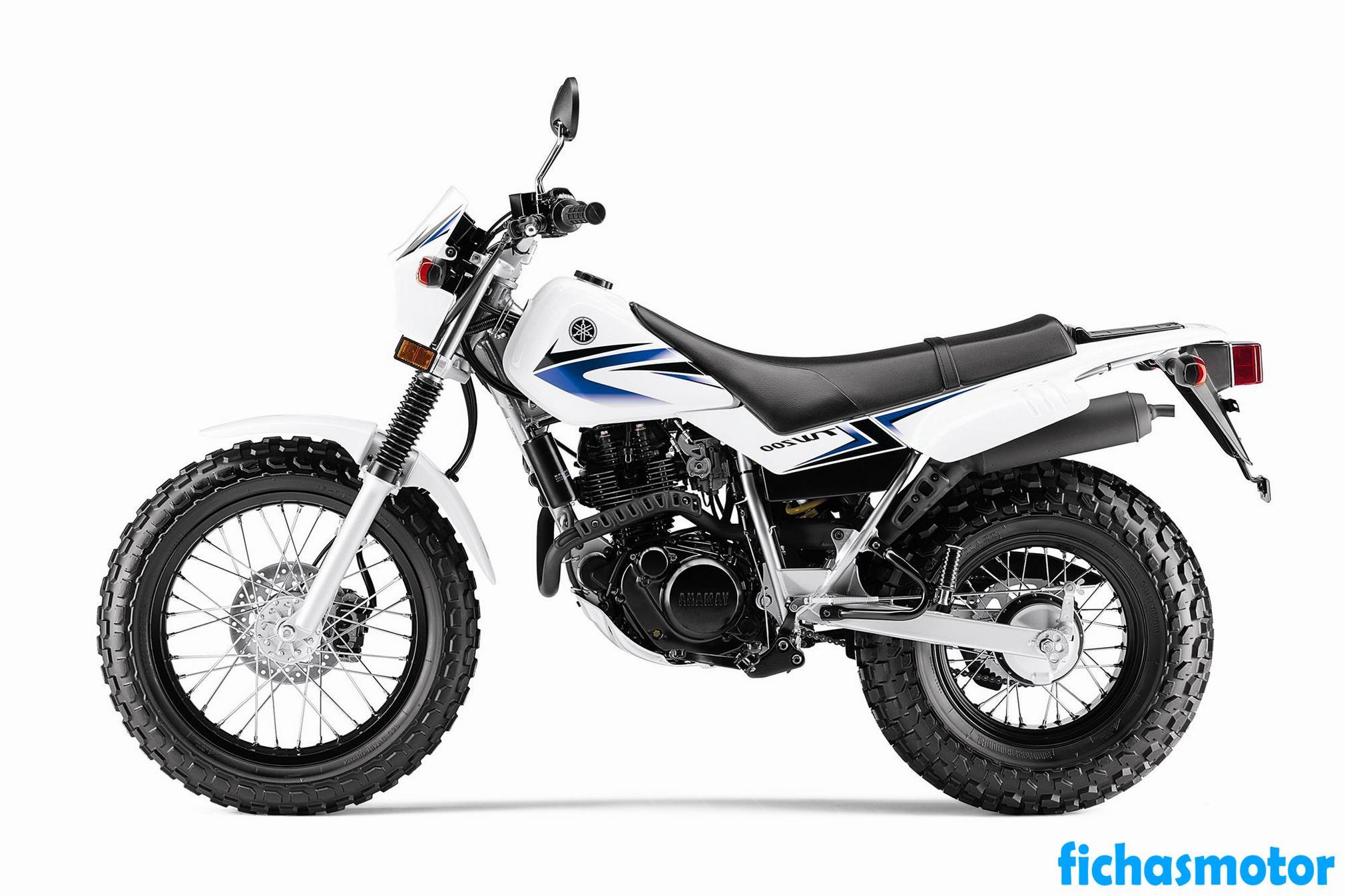 Ficha técnica Yamaha tw200 2012
