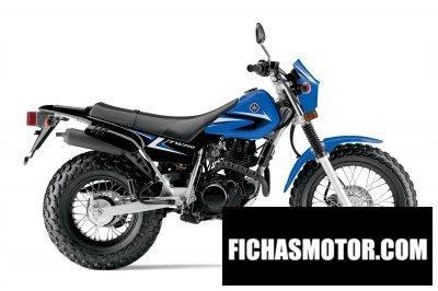 Ficha técnica Yamaha tw200 2014