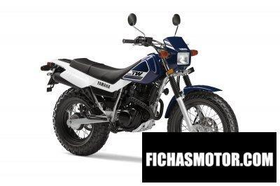 Ficha técnica Yamaha tw200 2016