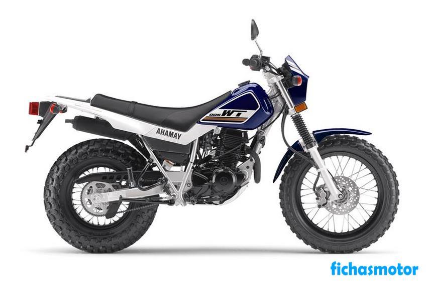 Imagen moto Yamaha tw200 año 2018