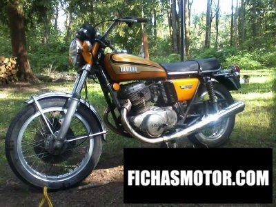 Imagen moto Yamaha tx 750 año 1972