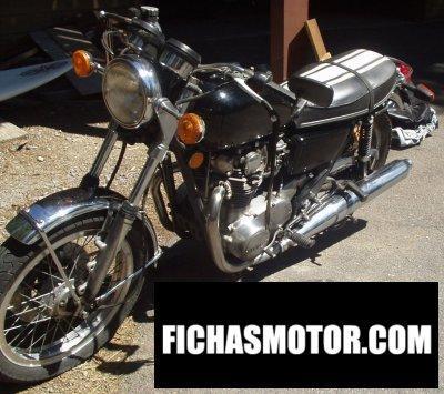 Ficha técnica Yamaha tx 750 1974