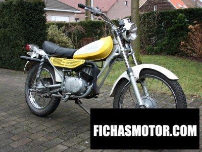 Ficha técnica Yamaha ty 50 1976