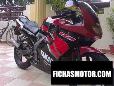 Ficha técnica Yamaha tz 125 2002