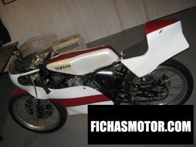 Ficha técnica Yamaha tz 125 g 1980