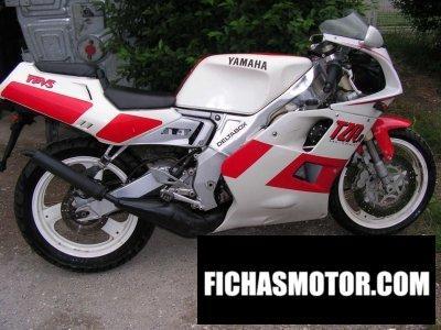 Ficha técnica Yamaha tzr 125 1991