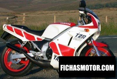 Ficha técnica Yamaha tzr 250 1987