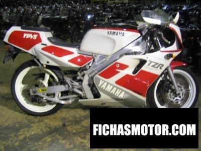 Ficha técnica Yamaha tzr 250 1990