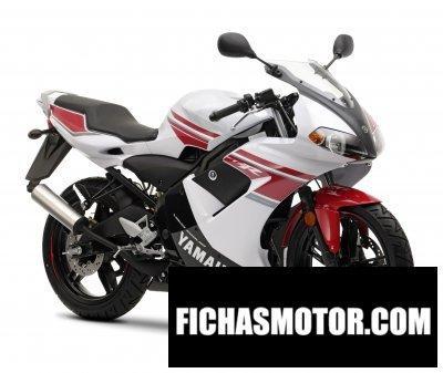 Ficha técnica Yamaha tzr 50 2008