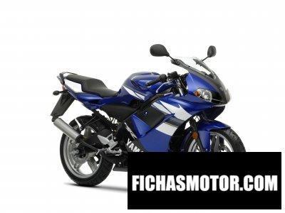 Ficha técnica Yamaha tzr50 2009