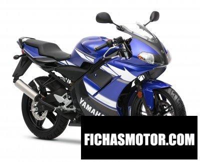 Ficha técnica Yamaha tzr50 2011