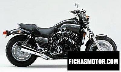Imagen moto Yamaha v-max 1200 año 2001