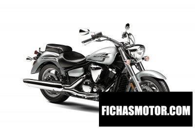 Imagen moto Yamaha v star 1300 año 2016