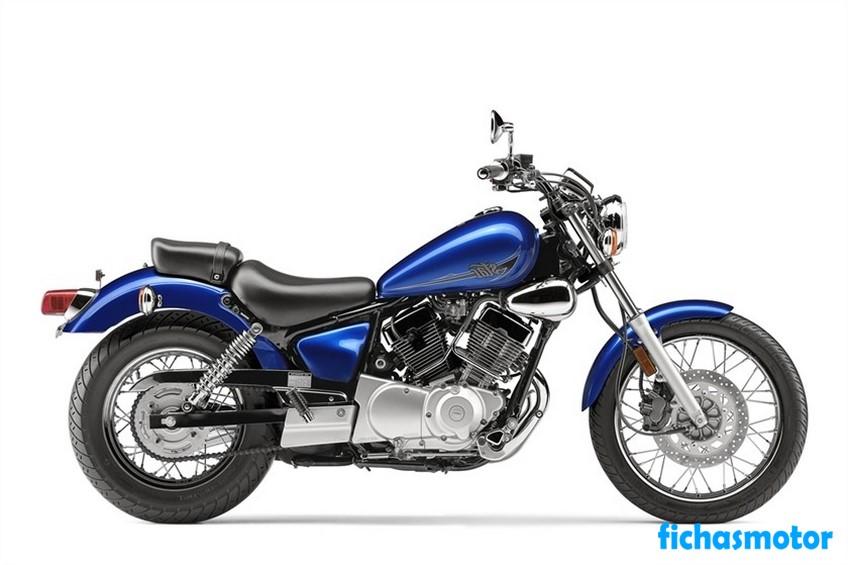 Ficha técnica Yamaha V Star 250 2020