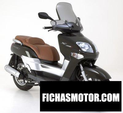 Ficha técnica Yamaha versity 300 2008