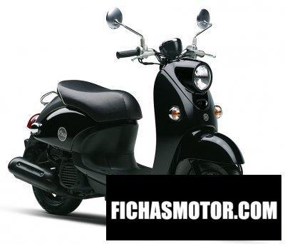 Ficha técnica Yamaha vino 125 2013