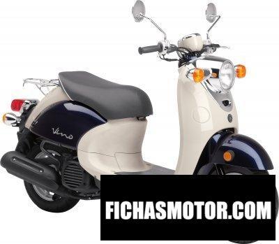 Ficha técnica Yamaha vino 50 2017