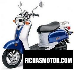 Imagen moto Yamaha vino Classic 2005