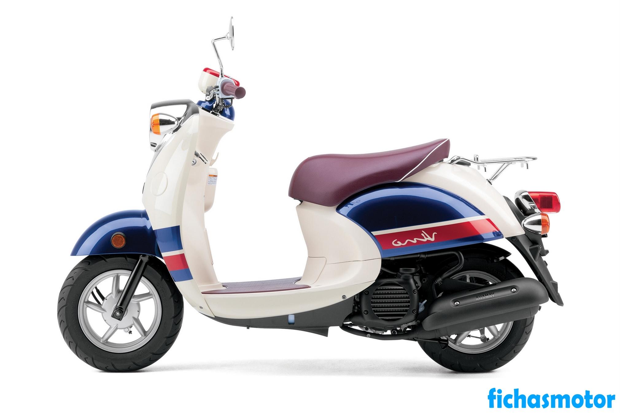 Ficha técnica Yamaha vino Classic 2014