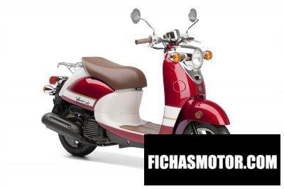 Ficha técnica Yamaha vino Classic 2015