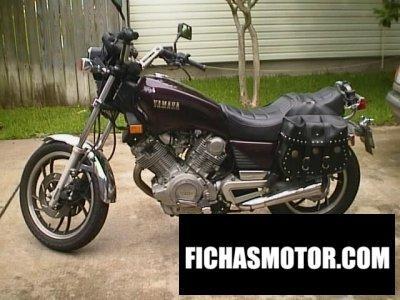 Ficha técnica Yamaha virago 920 1982