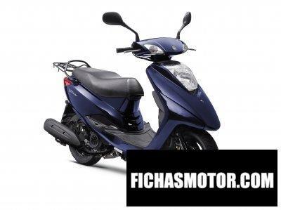 Ficha técnica Yamaha vity 2010