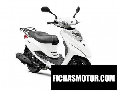 Ficha técnica Yamaha vity 2011