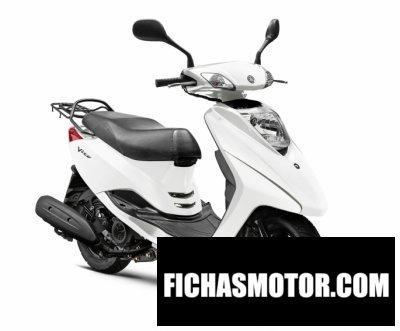 Ficha técnica Yamaha vity 2015