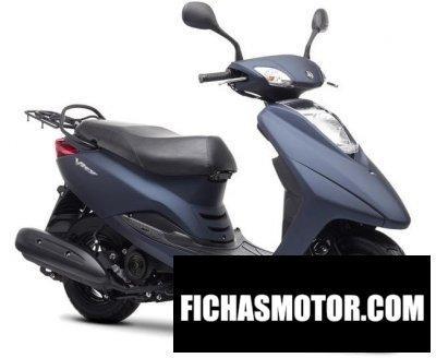 Ficha técnica Yamaha vity 2017