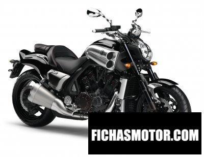 Imagen moto Yamaha vmax año 2009