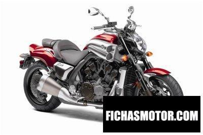 Ficha técnica Yamaha vmax 2010