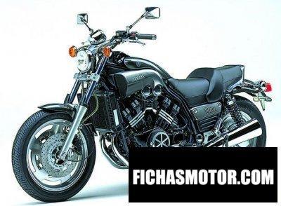 Ficha técnica Yamaha vmx 1200 v-max 2003