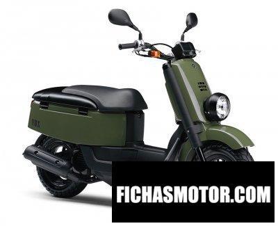 Ficha técnica Yamaha vox 2011