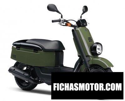 Imagen moto Yamaha vox año 2012