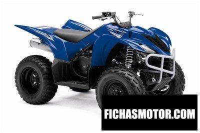 Ficha técnica Yamaha wolverine 350 2009