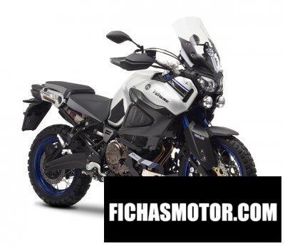Imagen moto Yamaha worldcrosser año 2016