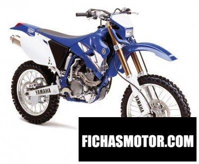 Ficha técnica Yamaha wr 250 f 2004