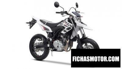 Ficha técnica Yamaha wr125 x 2014