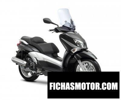 Ficha técnica Yamaha x-city 125 2011