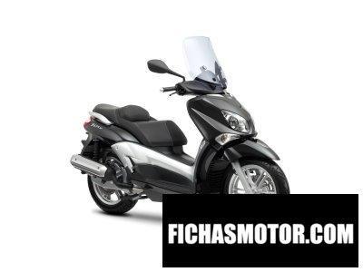 Ficha técnica Yamaha x-city 125 2012