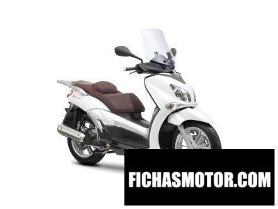 Ficha técnica Yamaha x-city 250 2016